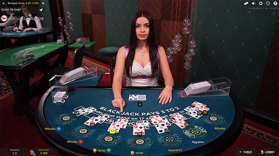 How to Play Live Dealer Blackjack?