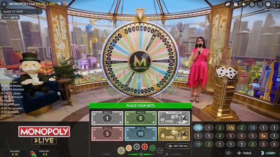 Monopoly Live Casinos