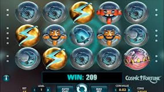 Cosmic Fortune free spins