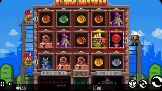 flame-busters free spins