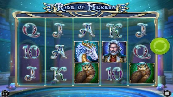 rise of merlin slot free spins