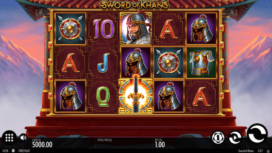 sword of khans free spins