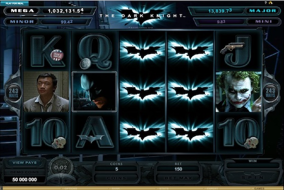 the dark night slot gameplay